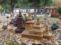 Park miniatur cerwki, kościołów, myczkowce