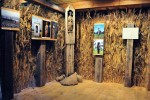 Fragment wystawy - Dolinami rzek