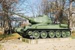 Czołg T - 34-85 produkcji wojennej
