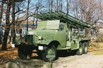 Wyrzutnia rakietowa BM - 13 Katiusza