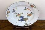 Talerz, Miśnia, 1 poł. XVIII w., porcelana