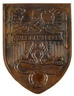 Niemiecka odznaka bojowa za walki w Warszawie - Warschauschild 1944, kopia