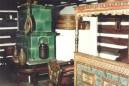 Wnętrze chałupy wiejskiej