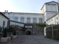 Wejście do Muzeum Browaru Żywieckiego
