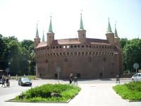Barbakan, Kraków