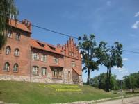 Olsztynek, Zamek Krzyżacki
