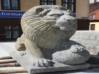 OLsztyk, lew z pomnika zwycięstwa